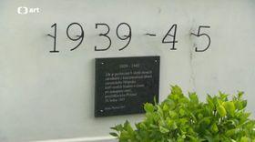 La tombe de Casimir Oberfeld à Přelouč, photo: ČT