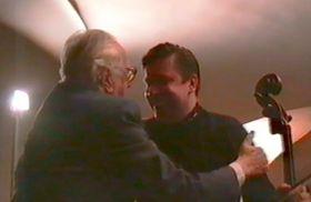 Kryštof Lecian con su maestro Miloš Sádlo, foto: archivo de Kryštof Lecian