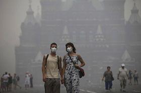 Waldbrände in Russland bringen Probleme auch den Moskauern (Foto: ČTK)