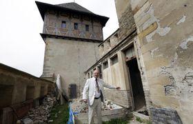Jaromír Kubů, intendant du château de Karlštejn, photo: ČTK