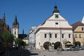 Town Hall, photo: Petrik.Tomas, CC BY 3.0 Unported