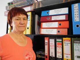 Людмила Бобровская, Фото: Лорета Вашкова, Чешское радио - Радио Прага