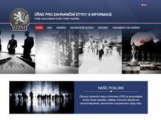 La página web oficial del Servicio de Inteligencia Civil (ÚZSI)