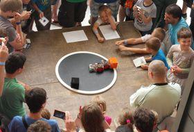 Категория мини-сумо, иллюстративное фото: архив Дня роботики