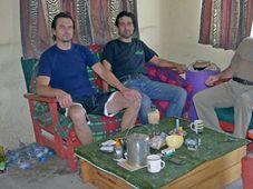 Jiří Cetel, Jan Coufal, Michal Vebr, photo: CT24