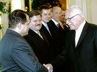 Президент назначил нового премьер-министра Й. Пароубека (Фото: ЧТК)