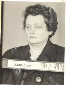 Milena Jesenská 1940 (Foto: Sicherheitsarchiv)