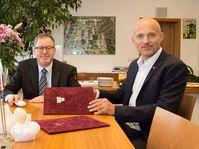 Daniel Meron de Israel y Michal Stiborek (a la derecha), foto: archivo de IKEM