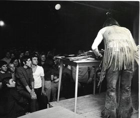 Tony Prince deejaying, photo: archive of Tony Prince