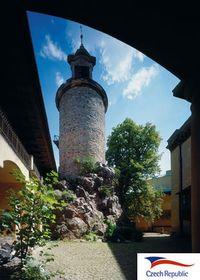 Torre gótica de Zbiroh