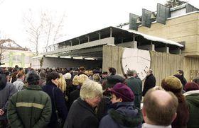 Los funerales del maestro Bohuslav Sibl, foto: CTK