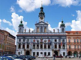 Мэрия г. Чешске Будейовице, Фото: Hans Lemuet, CC BY-SA 3.0