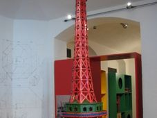 Modell des Turms auf dem Petřín (Foto: Martina Schneibergová)