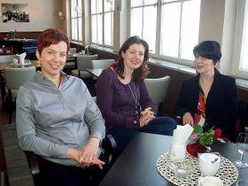 Markéta Purkardová, Radka Růžičková, Karin Pospíšilová (de gauche a droite)