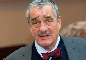 Karel Schwarzenberg, photo: Filip Jandourek