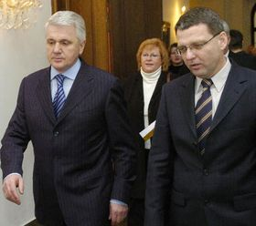 Владимир Литвин и Любомир Заоралек (Фото: ЧТК)