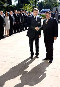 Robert Fico y Jiri Paroubek (Foto: CTK)