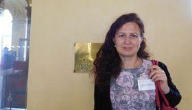 Оксана Антоненко, Фото: Лорета Вашкова, Чешское радио - Радио Прага