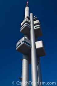 The Žižkov television tower, photo: CzechTourism