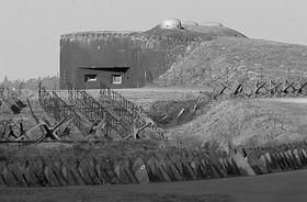 La fortification frontière tchèque