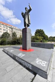 Памятник маршалу И. Коневу в Праге 22 августа 2019 г., фото: ЧТК / Вит Шиманек