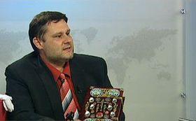 Tomáš Žilinčár, photo: Czech Television