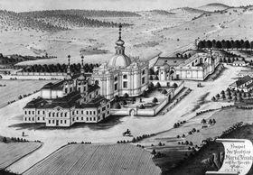 Mariánská Týnice cerca del año 1785