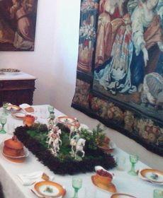 Выставка «Застолье в замке», Фото: Эва Туречкова, Чешское радио - Радио Прага