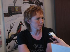 Dana Grossová (Foto: autor)