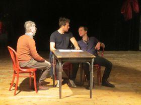 Rehearsal of 'Deaf Empire', photo: David Vaughan