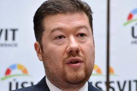 Tomio Okamura, foto: Filip Jandourek, Radiodifusión Checa