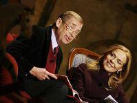 Václav Havel mit Frau Dagmar