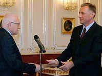 Václav Klaus et Mirek Topolánek, photo: CTK