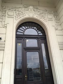 Front door at U Dvou tisíc, photo: Ian Willoughby