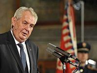 Miloš Zeman, photo: Filip Jandourek