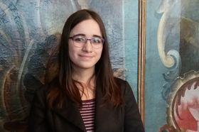 Klára Skolková, estudiante, una de las asistentes al curso, foto: Ivana Vonderková