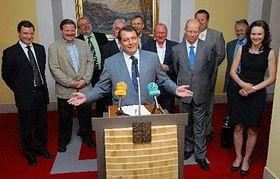 El saliente primer ministro, Jirí Paroubek (Foto: CTK)
