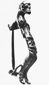 Bronze fibula from Manetin Hradek