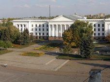 Площади Мира в Краматорске, фото: Wikimapia