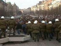 Palach Week 1989, photo: Czech Television