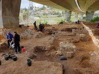 Arqueólogos checos hallan restos de lo que podría ser el Templo de Salomón, foto: Štěpán Macháček, Archivo de ČRo