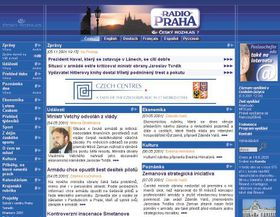Radio Prague website - www.radio.cz