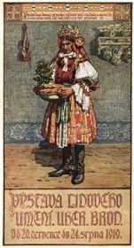 Obraz Antonína Frolky spřenášením novoročního koláče