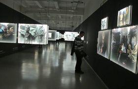 La exposición 'Upfront', foto: Dominika Bernáthová