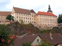 The castle in Bechyně
