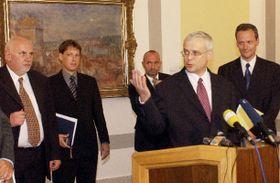 Nová koaliční vláda, foto: ČTK