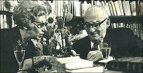Esther Hoffe et Max Brod