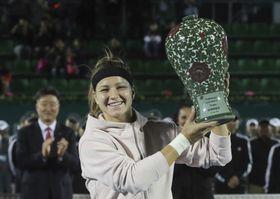 Karolína Muchová, foto: ČTK/AP/Ahn Young-joon