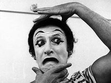 Marcel Marceau, photo: CTK