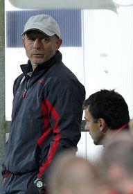Técnico del Slavia, Karel Jarolím. Foto: ČTK